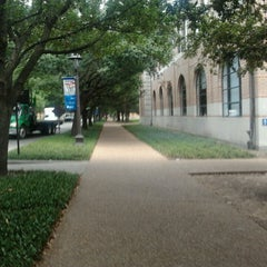Photo taken at Lovett Hall (Rice University) by Test A. on 8/6/2013
