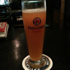 Photo taken at Brotzeit German Bier Bar & Restaurant by Martin B. on 10/19/2013