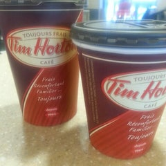 Photo taken at Tim Hortons by Jonathan T. on 6/13/2013
