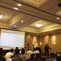 Photo taken at Cardiff Marriott Hotel by Eng. Hamad A. on 10/9/2014