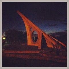 Photo taken at World's Biggest Sundial by Dylan V. on 1/29/2013