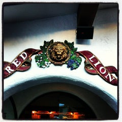 Photo taken at Red Lion by Brian S. on 1/27/2013