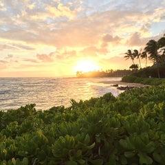 Photo taken at Ko'a Kea Hotel & Resort by Benson C. on 5/7/2015