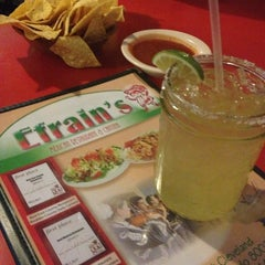 Photo taken at Efrain's Mexican Restaurant & Cantina by Amanda F. on 5/11/2013