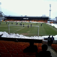 Photo taken at Vale Park by Fiona A. on 3/29/2013