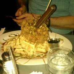 Photo taken at Hash House A Go Go by Jaron G. on 4/6/2013