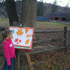 Photo taken at Fosterfields Living Historical Farm by Brandi U. on 11/10/2013