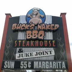 Photo taken at Buck's Naked BBQ by Charles J. on 5/2/2013