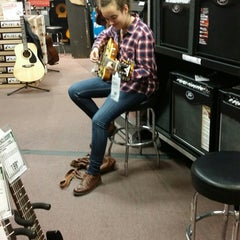 Photo taken at Guitar Center by Michael C. on 11/8/2014