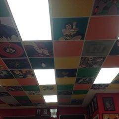 Photo taken at Laredo Pizza Factory by Arantxxa V. on 7/21/2014
