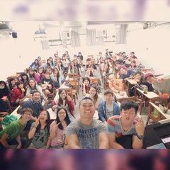 Photo taken at 銘傳大學台北校區 Ming Chuan University by Mandy J. on 10/17/2014