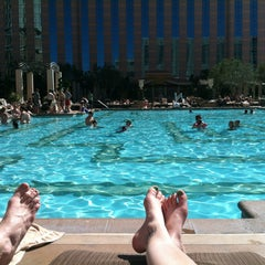 Photo taken at The Venetian Pool by Kim S. on 3/17/2013