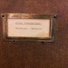 Das Foto wurde bei ZBW - Leibniz-Informationszentrum Wirtschaft Hamburg von Jan L. am 10/15/2012 aufgenommen