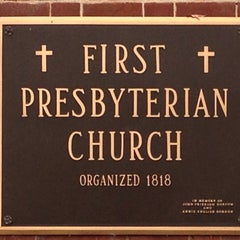Photo taken at First Presbyterian Church by Craig W. on 12/1/2013