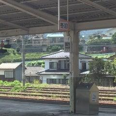 Photo taken at 辰野駅 (Tatsuno Sta.) by はむらび on 7/31/2015