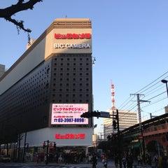 Photo taken at ビックカメラ 有楽町店 by tad e. on 4/13/2013