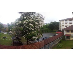 Photo taken at Kolej Tun Teja by Anna M. on 4/5/2014