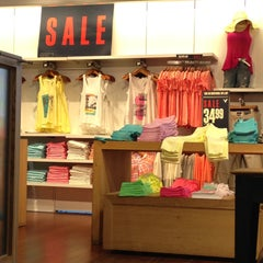 Photo taken at AEO & Aerie Store by Chanda S. on 4/24/2013