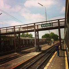 Photo taken at สถานีรถไฟตะพานหิน (Taphan Hin) SRT1099 by Pongpun M. on 5/19/2013
