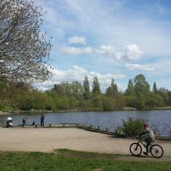 Photo taken at Trout Lake by Ziyad A. on 4/26/2014