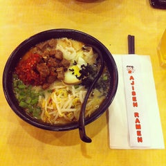 Photo taken at Ajisen Ramen by Yih Ning L. on 8/27/2013