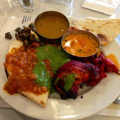Photo taken at Aahar Indian Cuisine by Michael R. on 6/24/2013