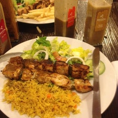 Photo taken at Barcelos Flame Grilled Chicken by Perrie L. on 3/30/2013