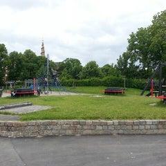 Photo taken at Legeplads Christianhavns Volde by Rasmus K. on 6/30/2013