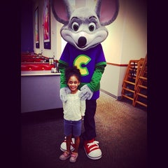 """Photo taken at Chuck E. Cheese's by John """"O'BeHave"""" V. on 5/22/2014"""