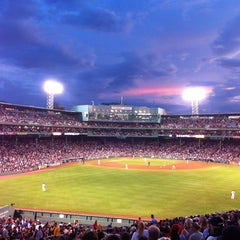 Photo taken at Fenway Park by Jacqulyn S. on 7/24/2013