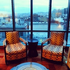 Photo taken at Intercontinental Club Lounge by Yuan X. on 1/26/2014