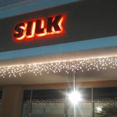 Photo taken at Silk by Oscar P. on 3/31/2013