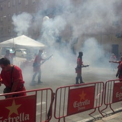 Photo taken at Barrio de San Blas by Angel M N. on 7/15/2013