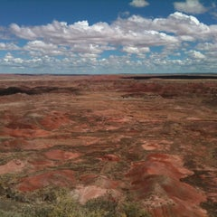 Photo taken at Painted Desert by Tony C. on 9/18/2014