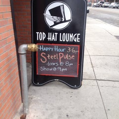 Photo taken at Top Hat Lounge by Luis C. on 4/22/2014