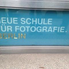 Photo taken at Neue Schule für Fotografie by DerMedienStudent on 11/9/2013