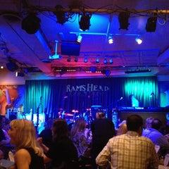 Photo taken at Rams Head On Stage by Jillian M. on 5/31/2013