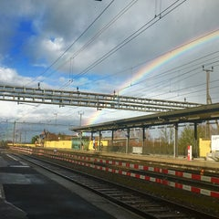 Photo taken at Bahnhof Muri by Sara H. on 1/11/2016