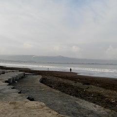 Photo taken at Pantai Pelabuhan Ratu by Nurtri N. on 6/6/2015