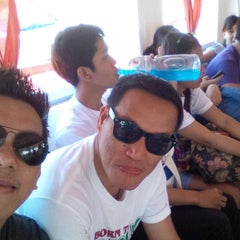 Photo taken at Boat ride to Batangas by JC P. on 4/20/2015