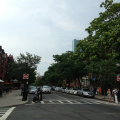 Photo taken at Newbury Street by Samantha Mikaela R. on 7/20/2013