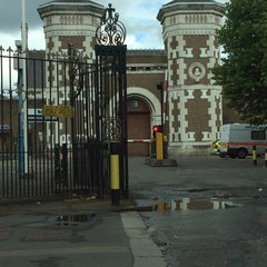 Photo taken at HMP Wormwood Scrubs by Suzy T. on 7/5/2014