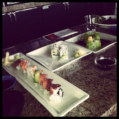 Photo taken at RA Sushi Bar Restaurant by Taylor B. on 4/2/2013
