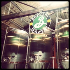 Photo taken at Brooklyn Brewery by Jameson L. on 4/20/2013