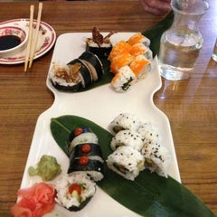 Photo taken at Full Moon Sushi & Bistro by Vickie B. on 4/23/2013