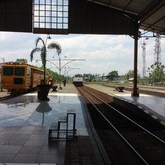 Photo taken at Stasiun Purwokerto by Nur K. on 11/2/2014