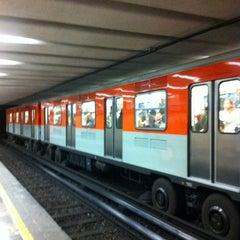Photo taken at Metro San Juan de Letrán by Viviana S. on 7/7/2013