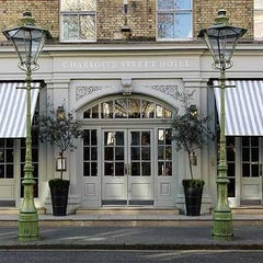 Photo taken at Charlotte Street Hotel by Hudsons P. on 5/1/2013