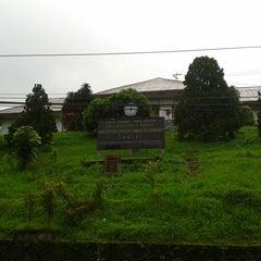 Photo taken at Universitas Kristen Indonesia Tomohon (UKIT) by Angel M. on 7/15/2013