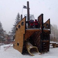 Photo taken at Pirate Ship Playground by Josh P. on 12/16/2012